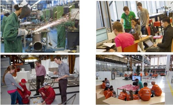 Bedrijvigheid en onderwijs in RDM campus – Foto RDM Campus