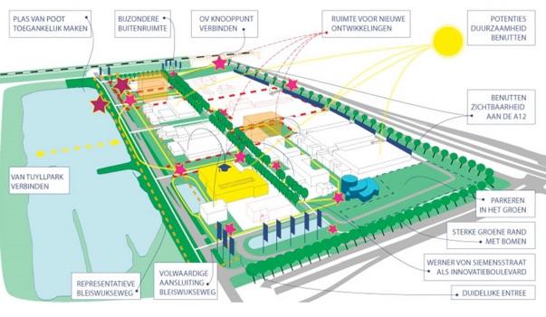 Plangebied Dutch Innovation Campus