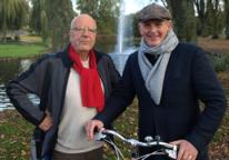 Schatbewakers Willem Hermans en Alcuin Olthof